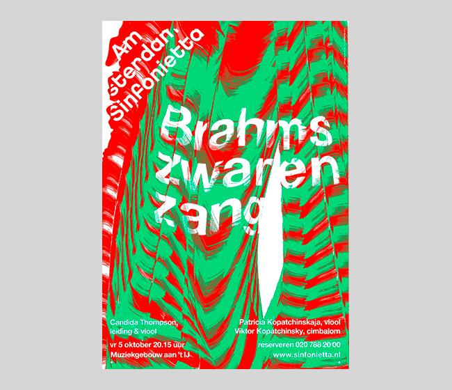 Poster for Amsterdam Sinfonietta Studio Dumbar