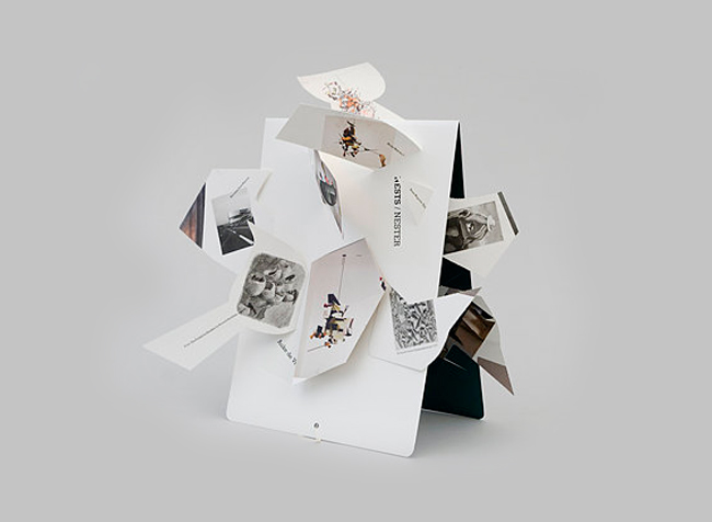 Book for the artist Auke de Vries Niessen & de Vries Dutch Design