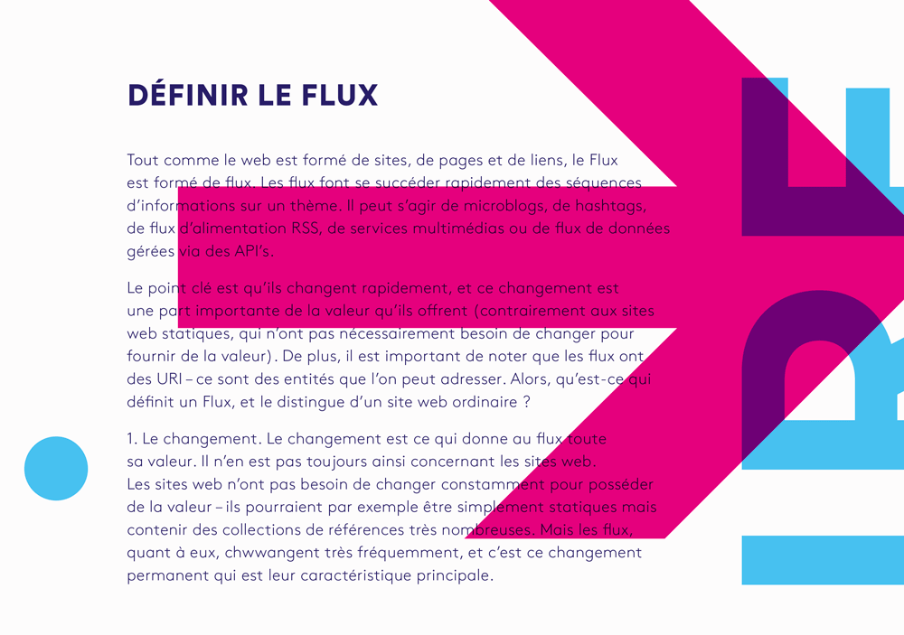 Colloque Le Flux